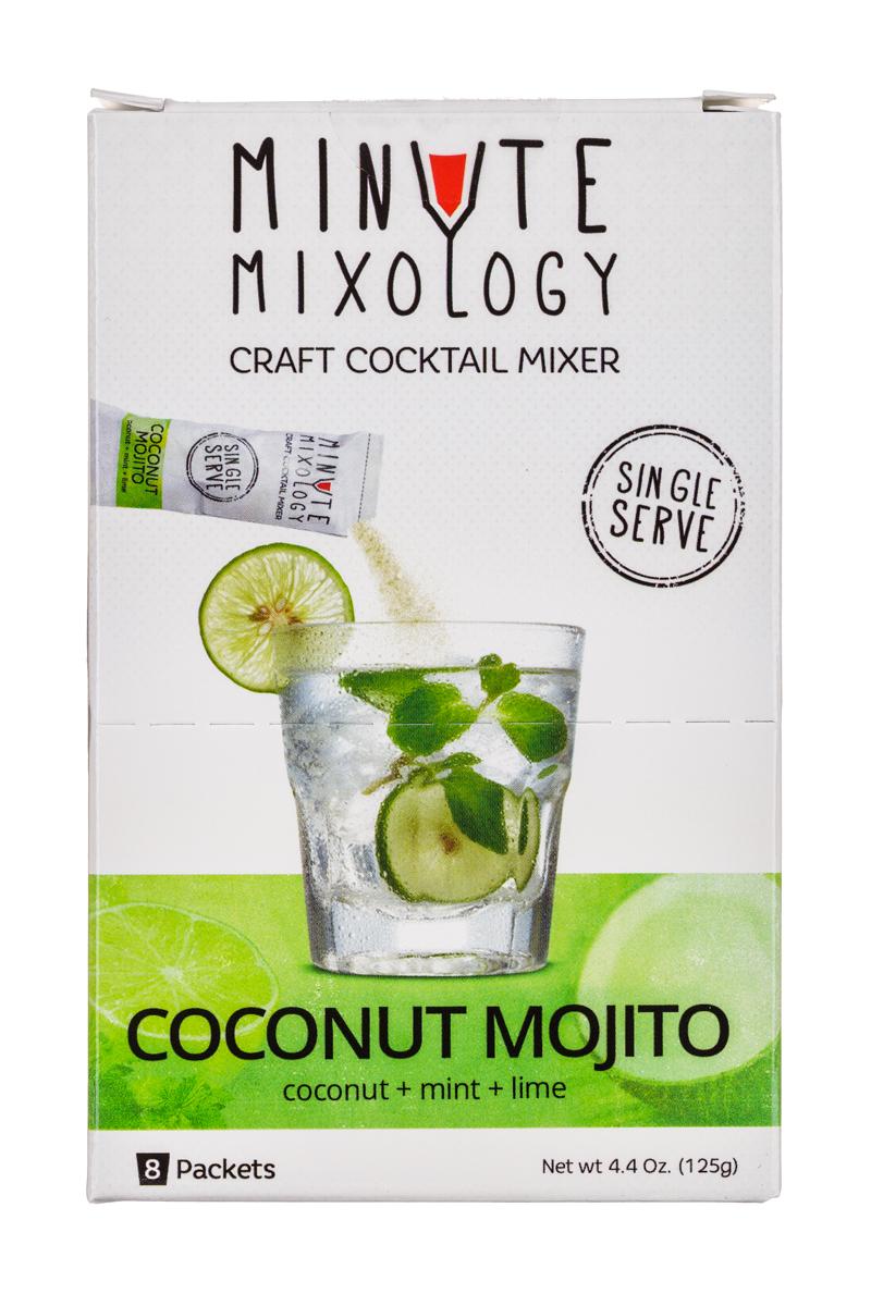 Minute Mixology: MinuteMixology-8pckt-CoconutMojito-Front