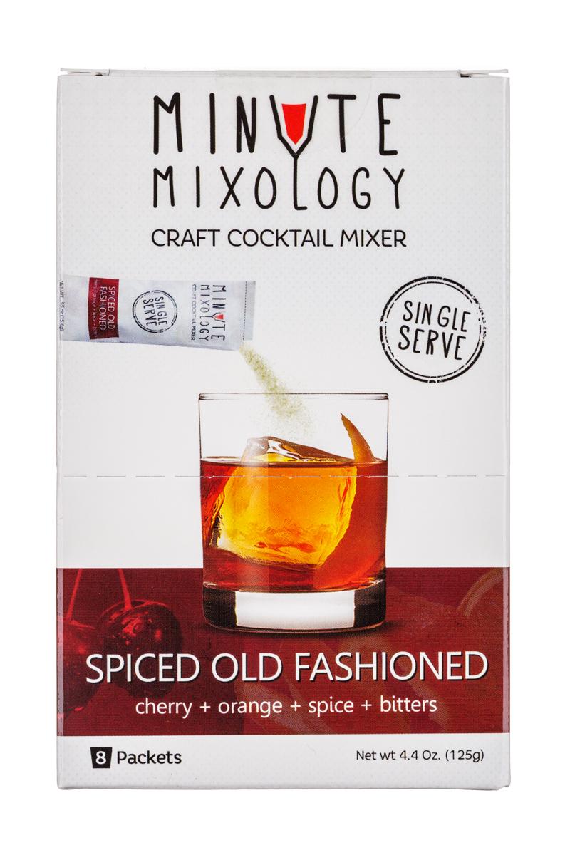 Minute Mixology: MinuteMixology-8pckt-SpicedOldFashioned-Front