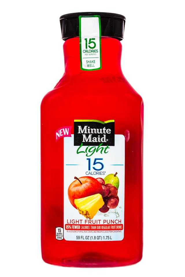 Minute Maid Juices: MinuteMaid-59oz-Light-FruitPunch-Front