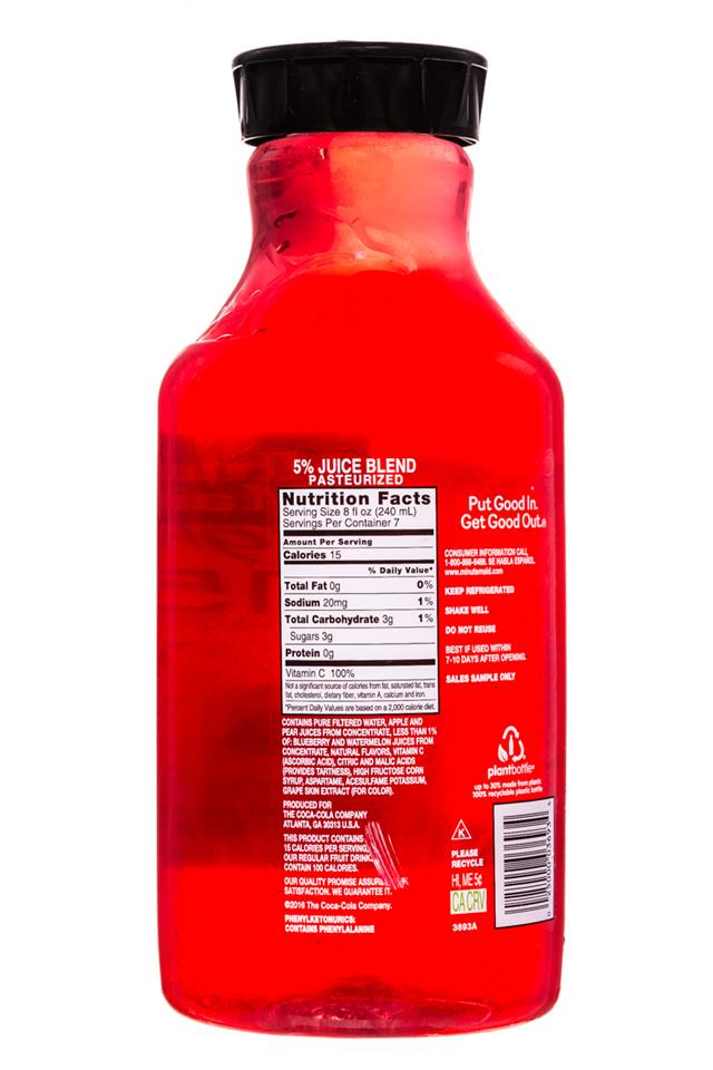 Minute Maid Juices: MinuteMaid-59oz-Light-WatermelonBlueberry-Facts