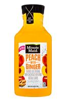 Minute Maid Juices: MinuteMaid-59oz-PeachGinger-Front