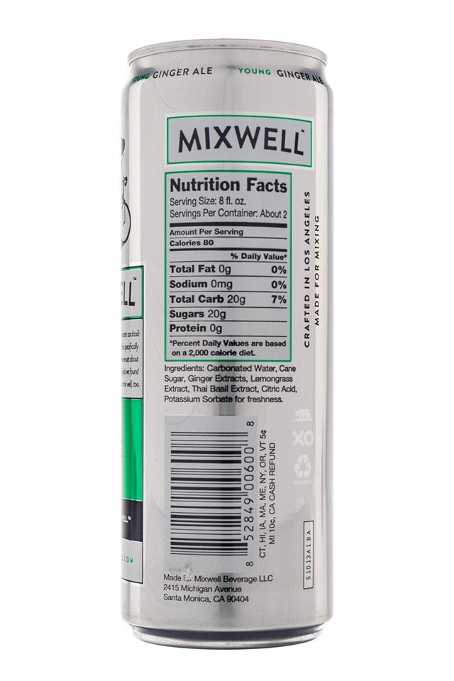 Mixwell: Mixwell-GingerAle-Facts