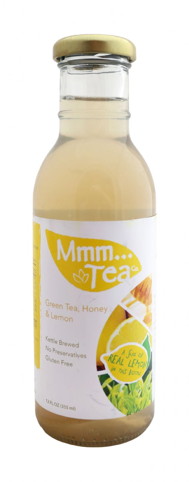 Mmm...Tea: MmmmTea GreenLemon Front