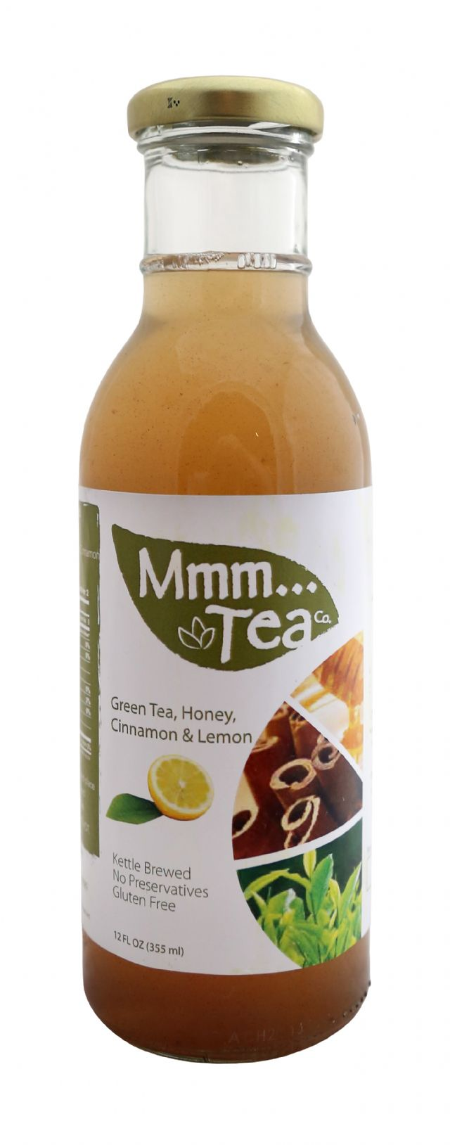 Mmm...Tea: MmmmTea GreenHoney Front