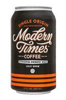 Modern Times Coffee: ModernTimes-12ozCan-ColdBrewCoffee