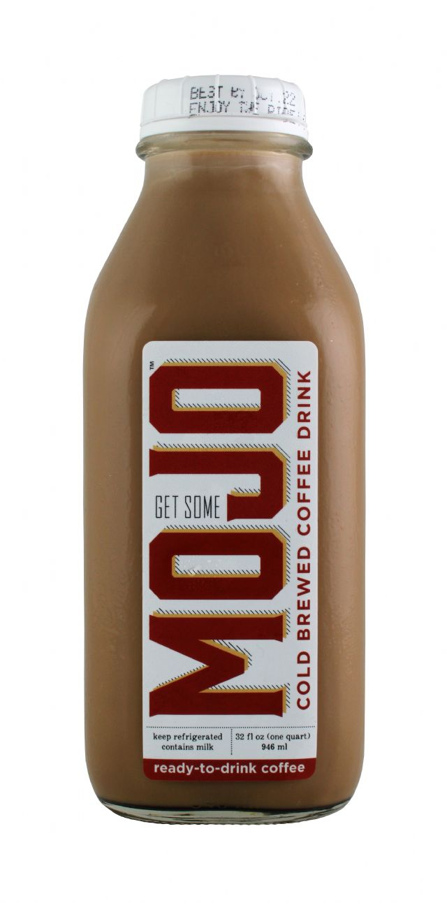 Mojo Cold Brewed Coffee: Mojo Front