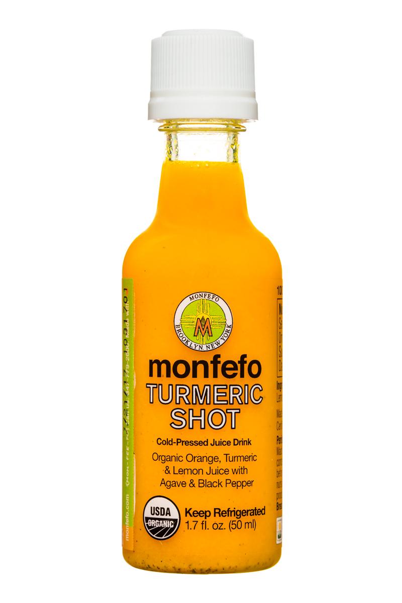 Monfefo: Monfefo-2oz-TurmericShot-Front