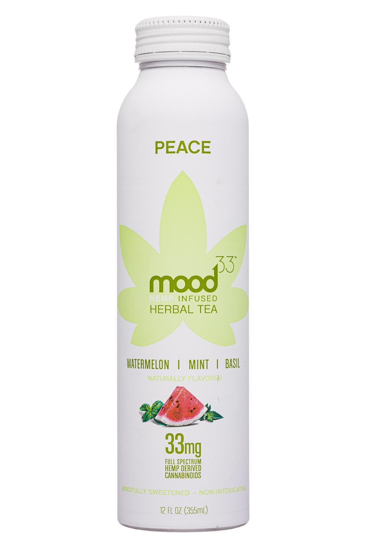 PEACE: Watermelon, Mint, Basil. CBD 33mg