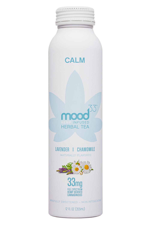 Mood33: Mood33-12oz-InfusedHerbalTea-Calm-Front