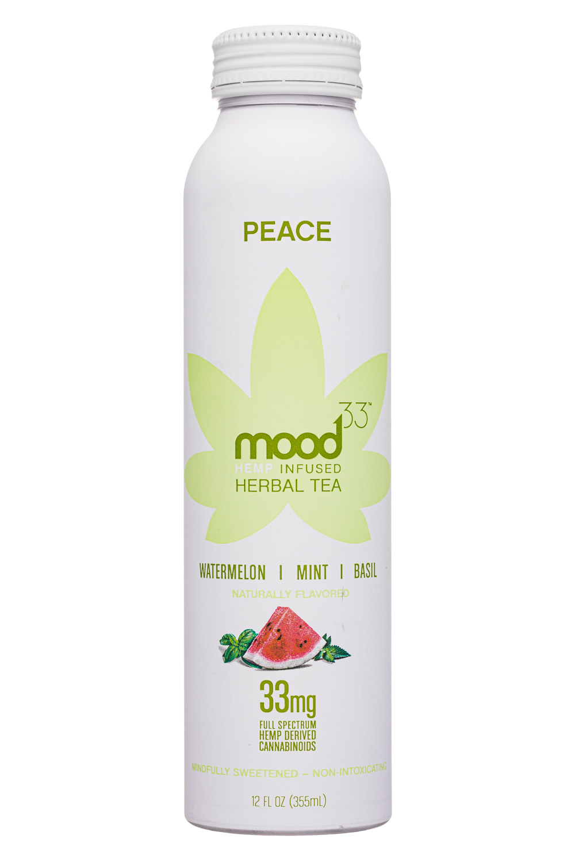 Mood33: Mood33-12oz-InfusedHerbalTea-Peace-Front