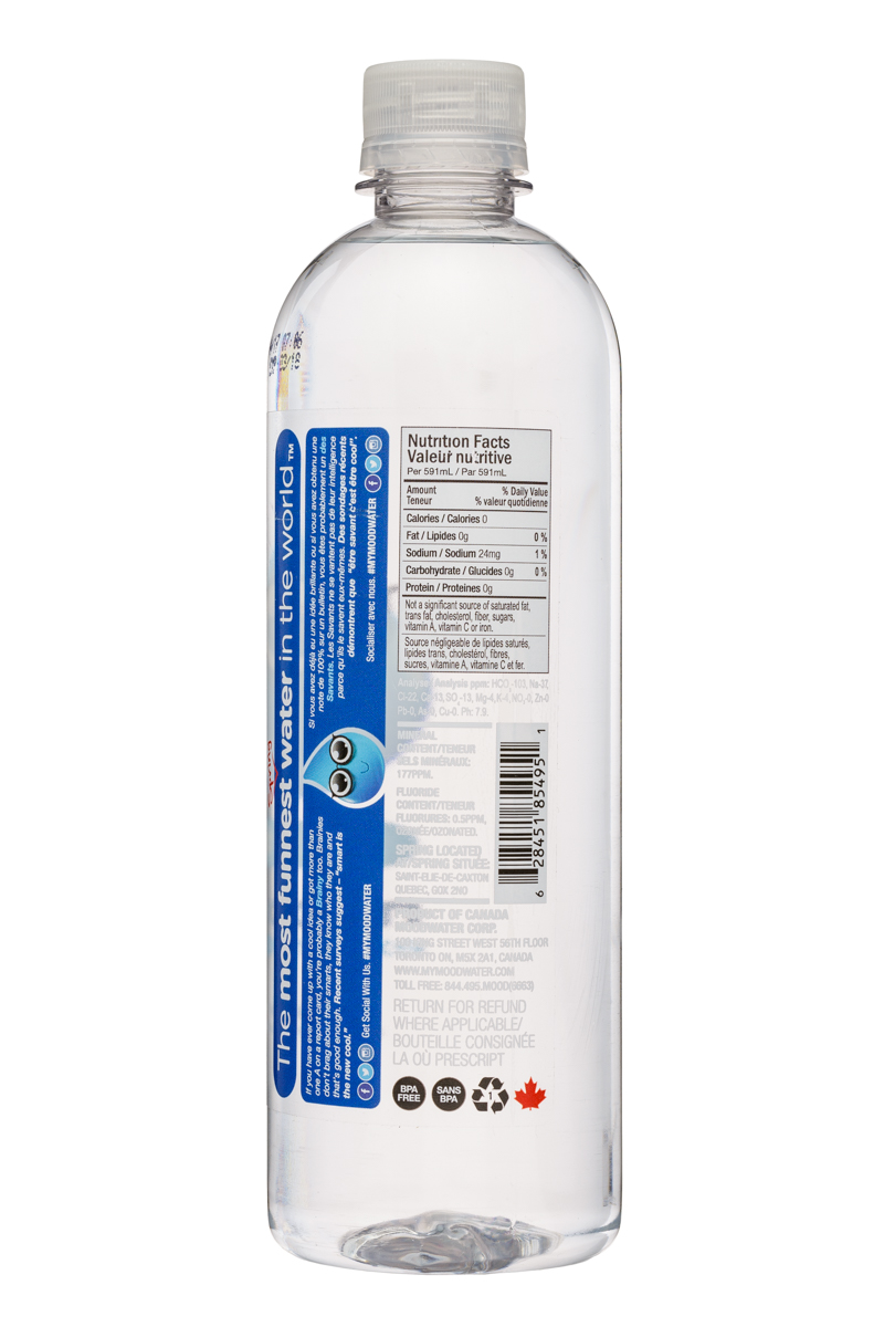 Moodwater: Moodwater-591ml-Smart-Facts