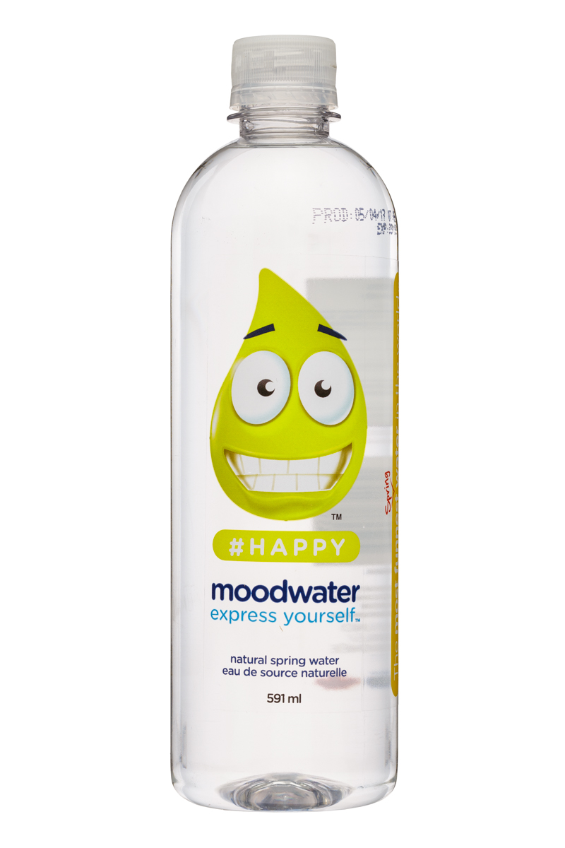 Moodwater: Moodwater-591ml-Happy-Front