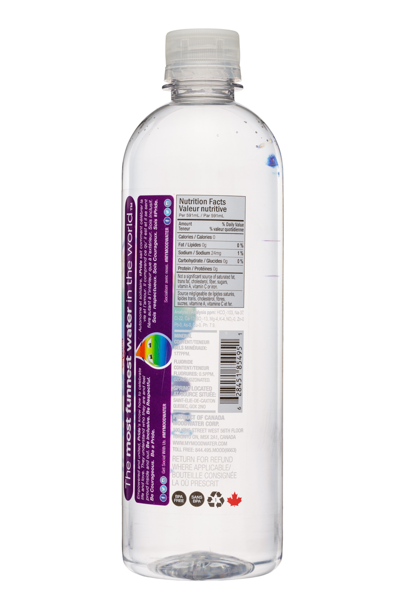 Moodwater: Moodwater-591ml-Pride-Facts
