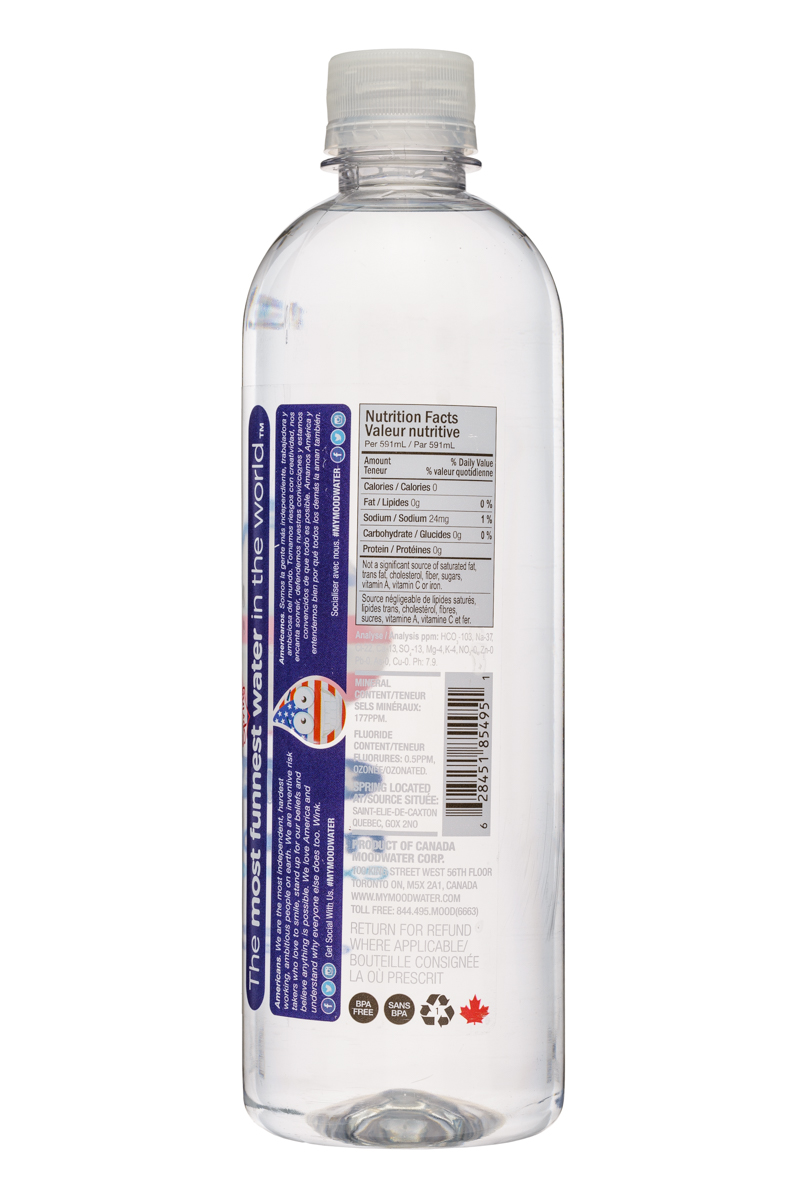 Moodwater: Moodwater-591ml-American-Facts