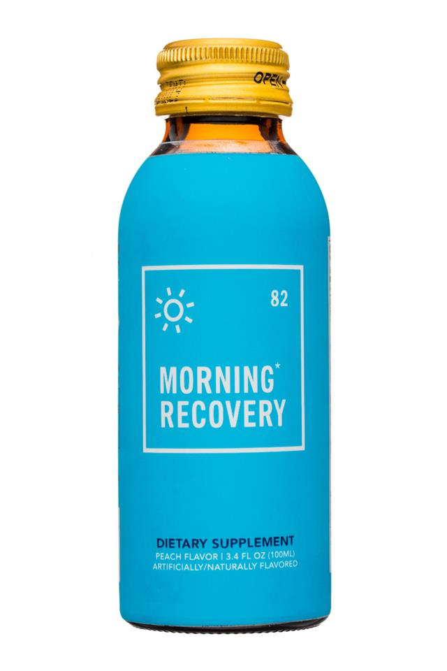 Morning Recovery Drink: MorningRecovery-3oz-DietarySupplement-Front