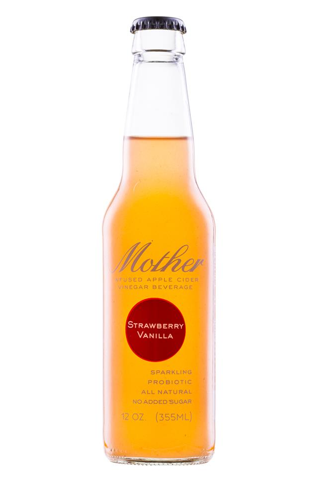 Mother Beverage: Mother-12oz-StrawberryVanilla-Front