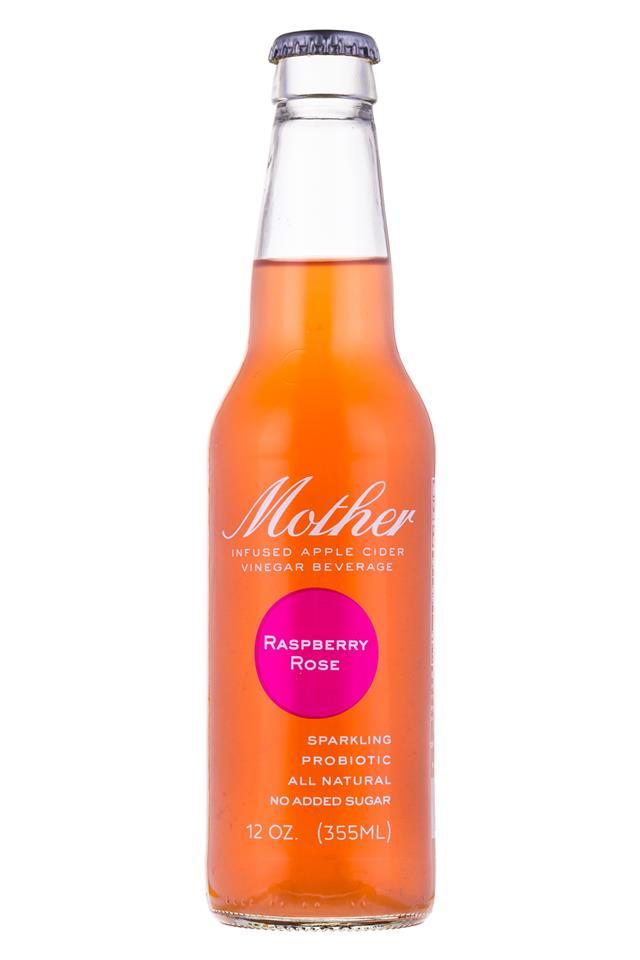 Mother Beverage: Mother-12oz-RaspberryRose-Front