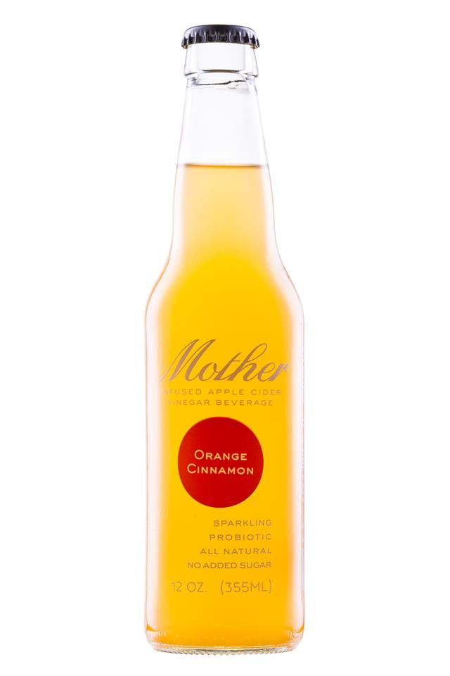 Mother Beverage: Mother-12oz-OrangeCinnamon-Front