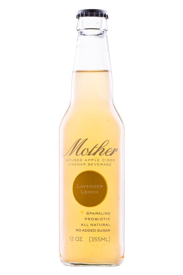 Mother Beverage: Mother-12oz-LavenderLemon-Front