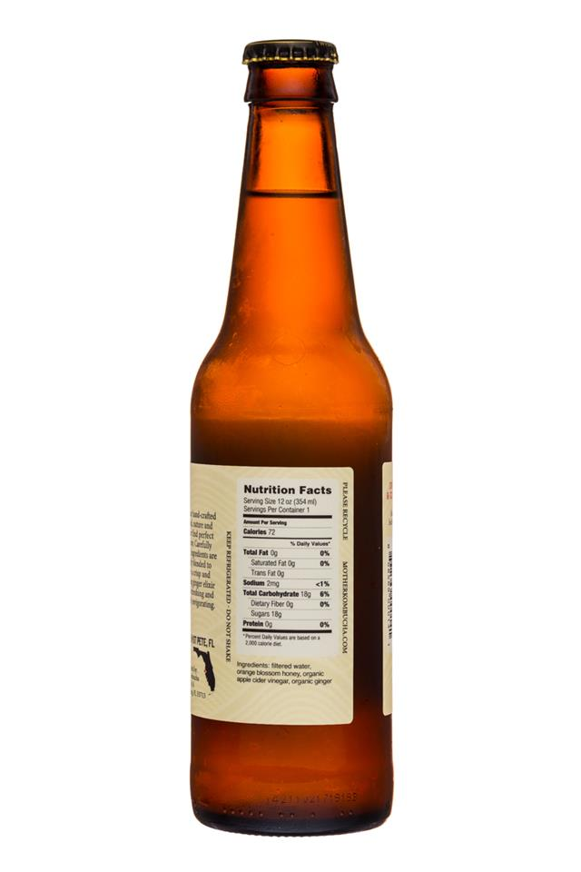 Mother Kombucha: Mother-Switchel-12oz-OrangeBlossom-Facts
