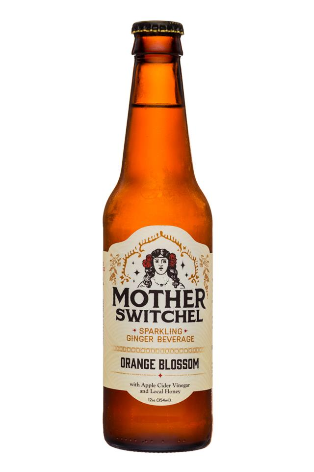 Mother Kombucha: Mother-Switchel-12oz-OrangeBlossom-Front