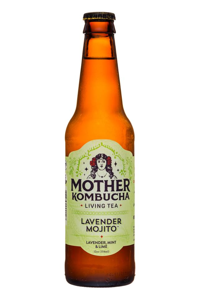 Mother Kombucha: Mother-Kombucha-12oz-LavenderMojito-Front