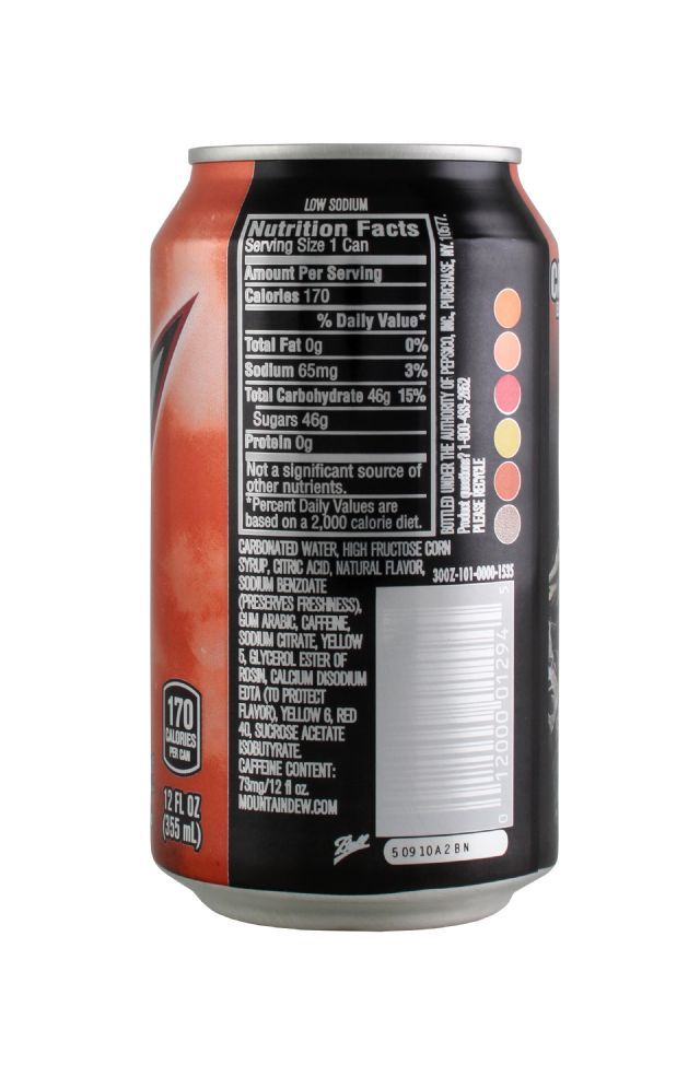 Mountain Dew Game Fuel: MtnDew Cherry Facts