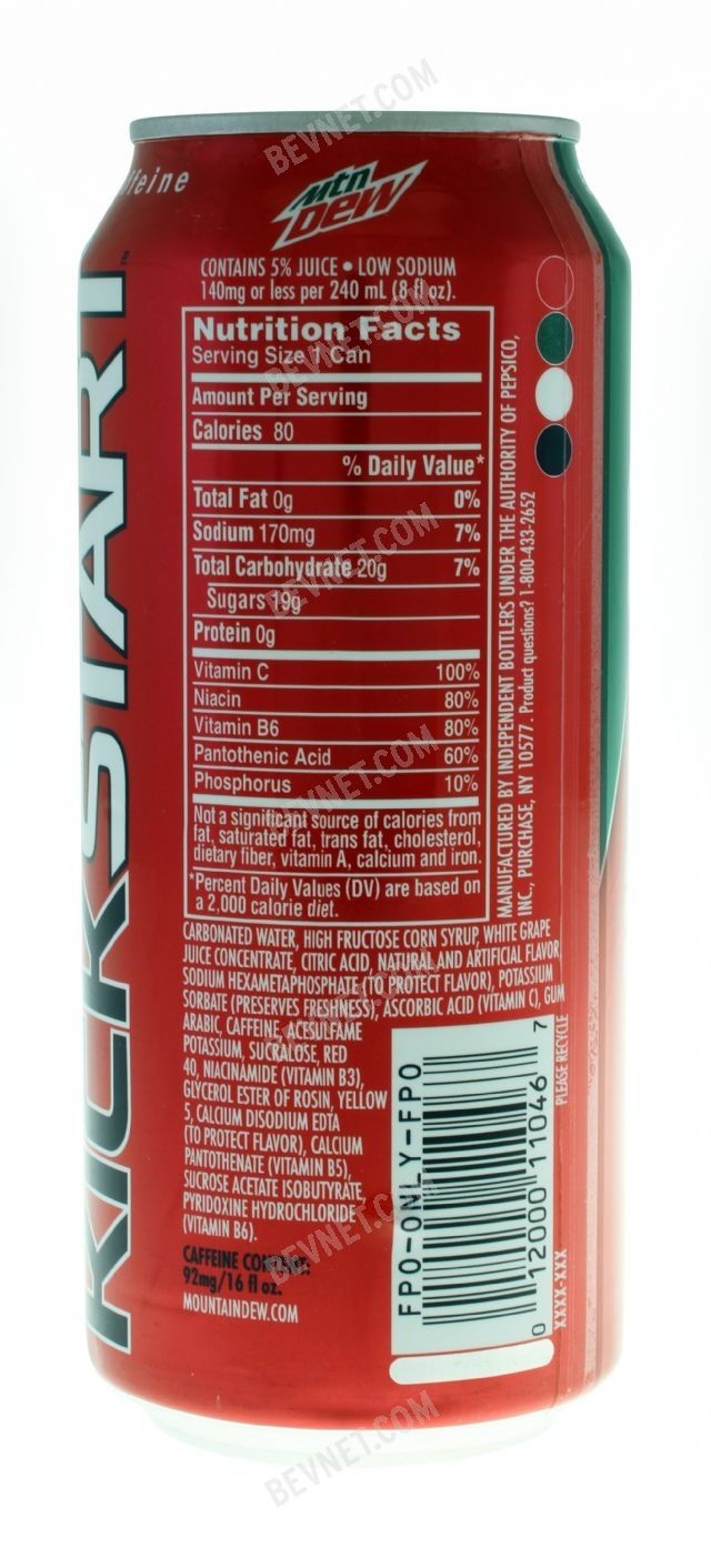 Mountain Dew Kickstart: