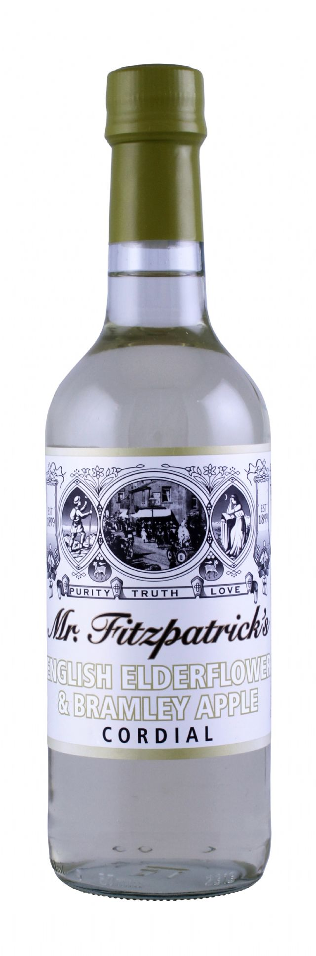Mr Fitzpatrick's: MrFitz Elderflower Front