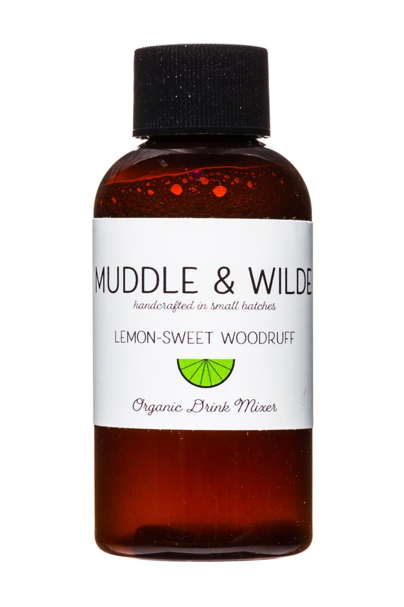 Muddle & Wilde: MuddleAndWilde-4oz-Mixer-LemonSweetWoodruff-Front