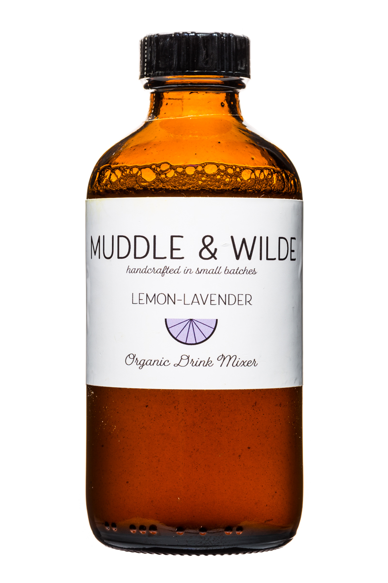 Muddle & Wilde: MuddleAndWilde-8oz-Mixer-LemonLavender-Front