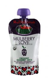 Organic Mulberry with Strawberry and Apple