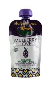 Organic Mulberry with Banana and Apple