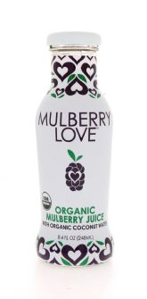 Organic Mulberry with Organic Coconut Water