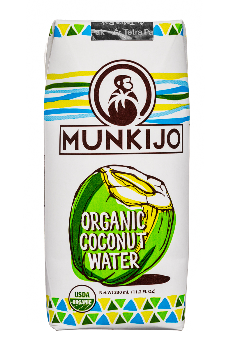 MUNKIJO: Munkijo-OrganicCoconutWater-11oz-Front