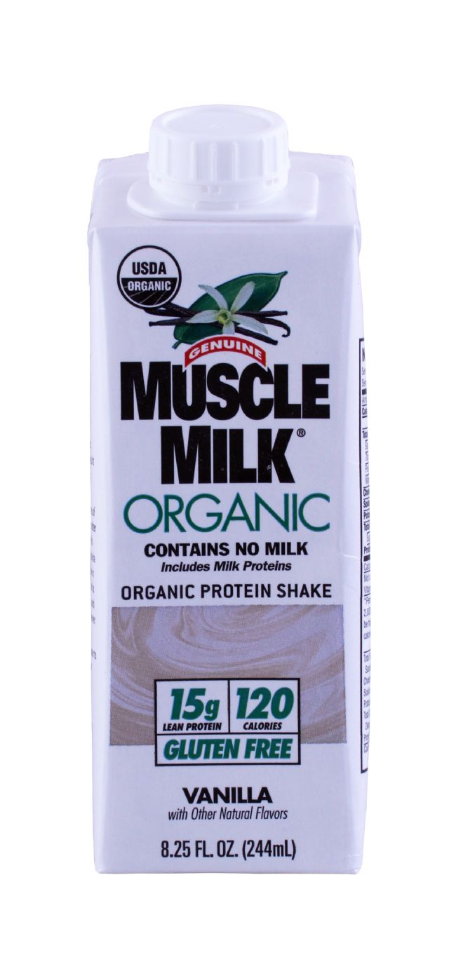 Muscle Milk Organic: MuscleMilk Vanilla Front