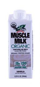 MuscleMilk Vanilla Front