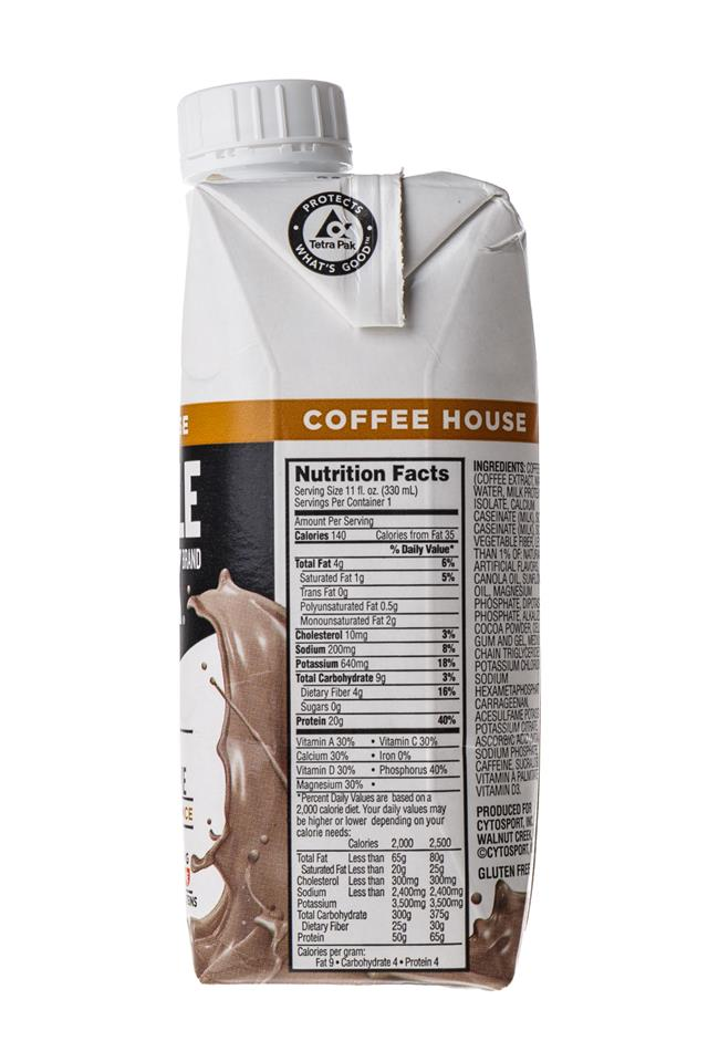 Muscle Milk: MuscleMilk-CoffeeHouse-Mocha-Facts