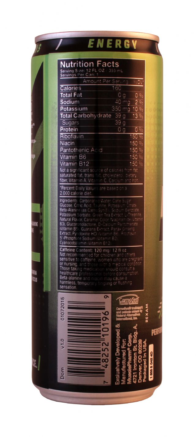 MusclePharm: MP Sport Facts