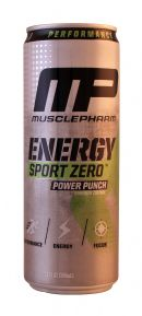 MusclePharm: MP SportZeroPowerPunch Front