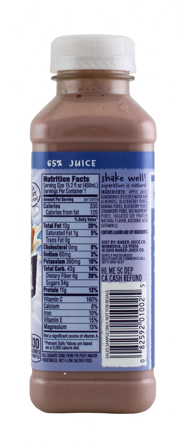 Naked Juice Nut Milk: Naked Nutmilk Facts