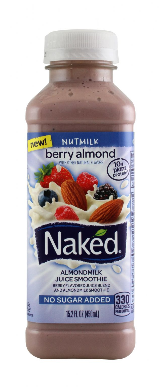 Naked Juice Nut Milk: Naked Nutmilk Front