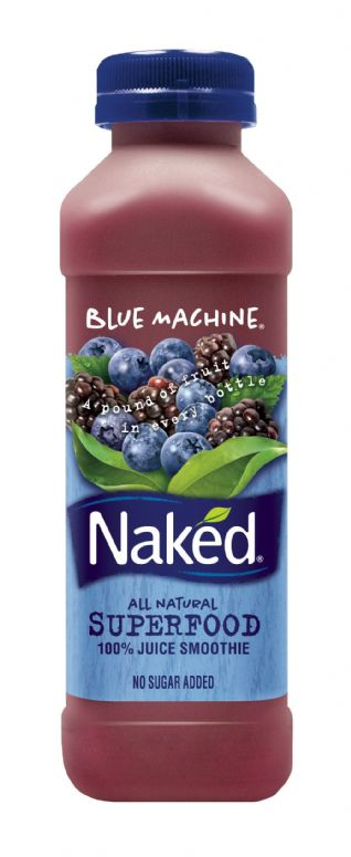 Blue machine naked juice