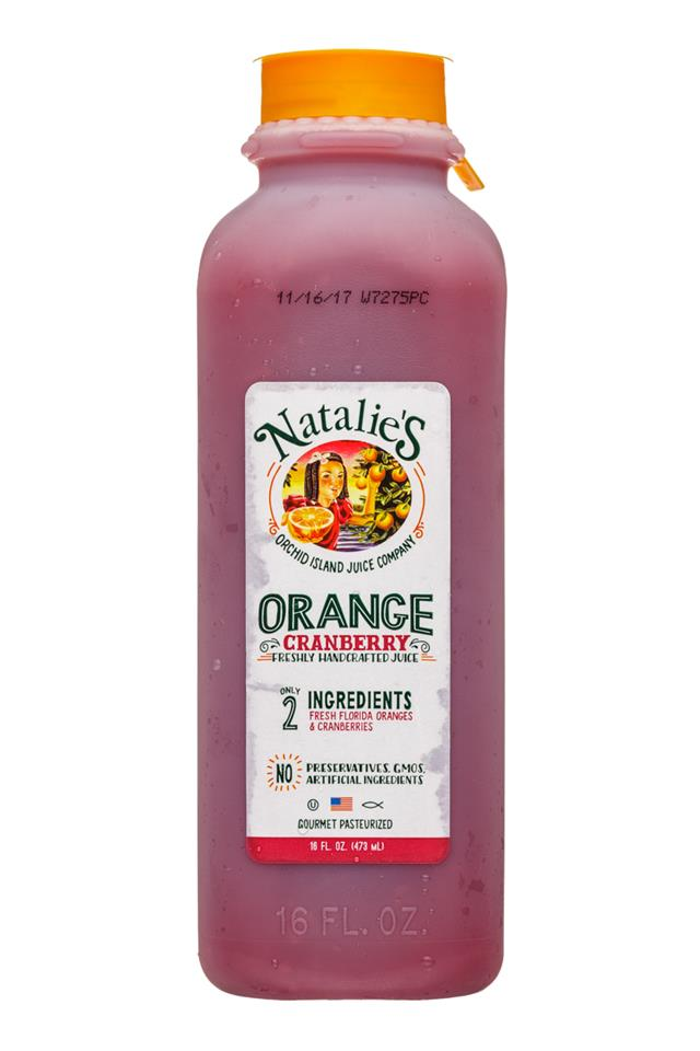Natalie's: OrchidIsland-Natalies-16oz-Juice-OrangeCranberry-Front