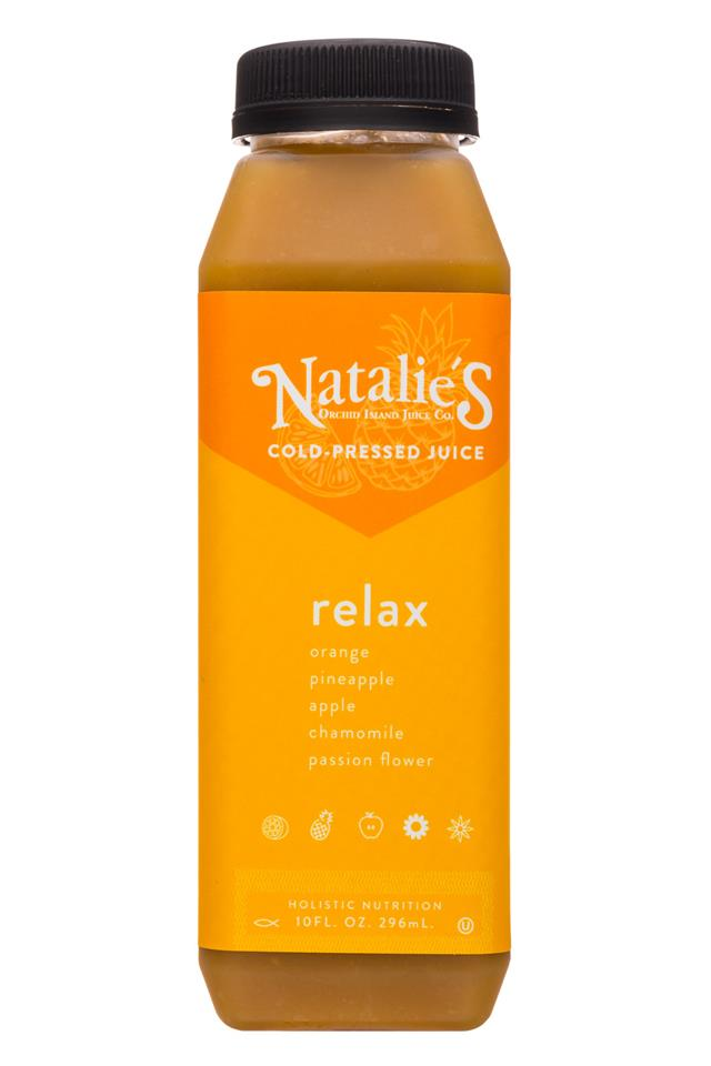Natalie's: Natalies-10oz-ColdPressedJuice-Relax-Front