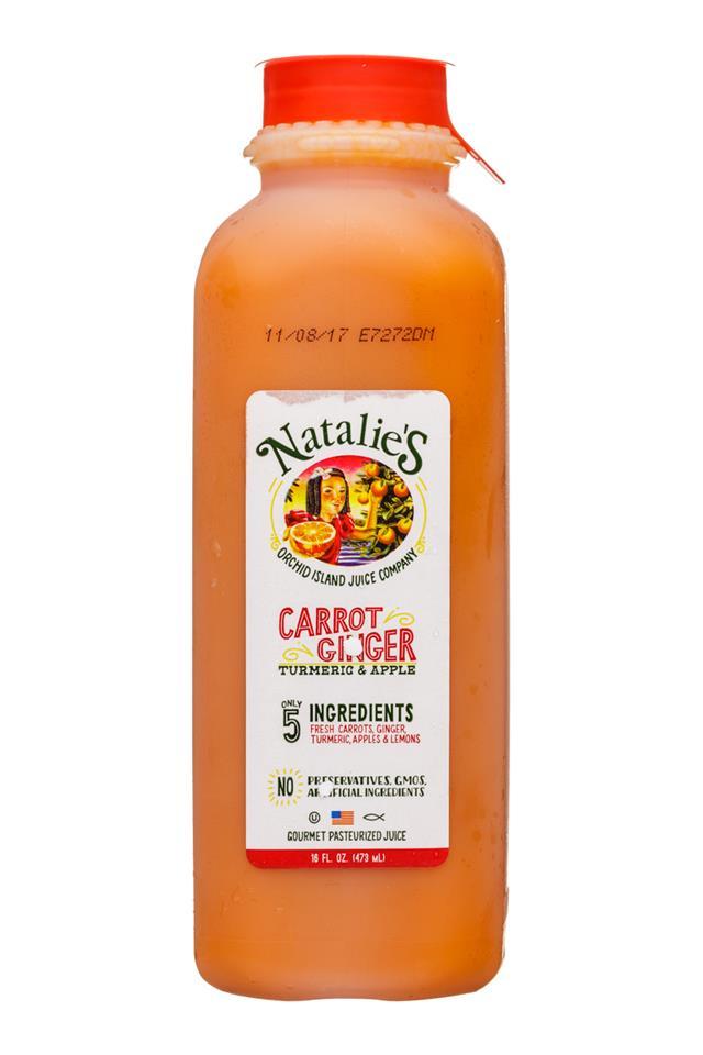 Natalie's: OrchidIsland-Natalies-16oz-Juice-CarrotGinger-Front