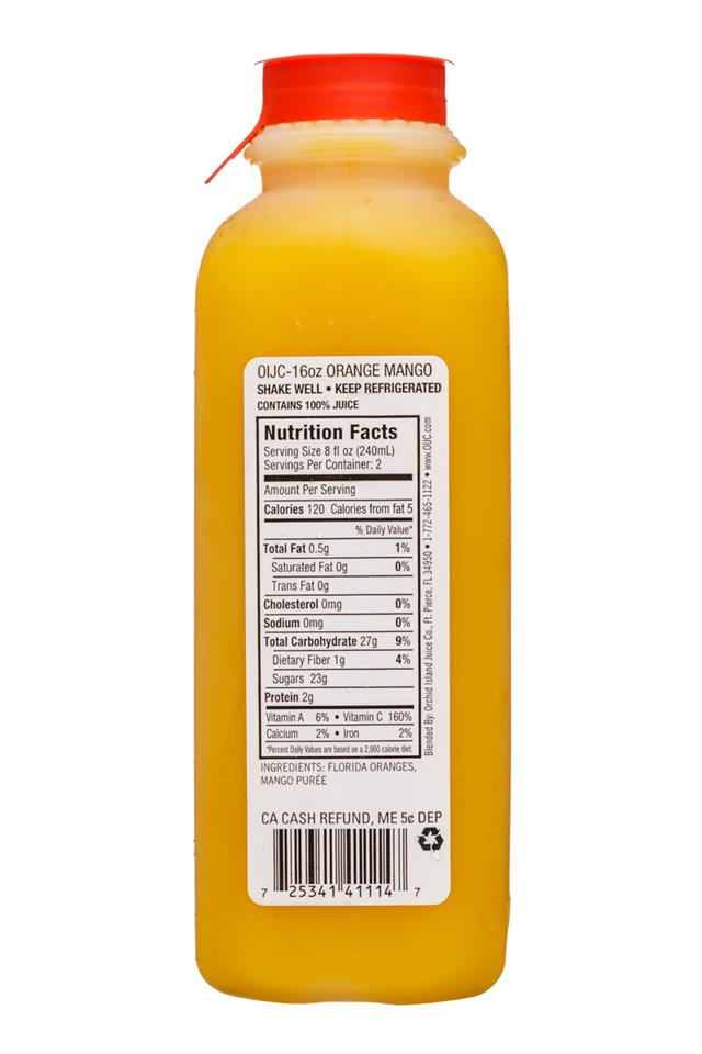 Natalie's: OrchidIsland-Natalies-16oz-Juice-OrangeMango-Facts