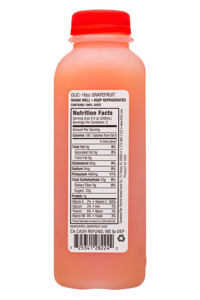 Natalie's: Natalies-16oz-2019-GrapefruitJuice-Facts