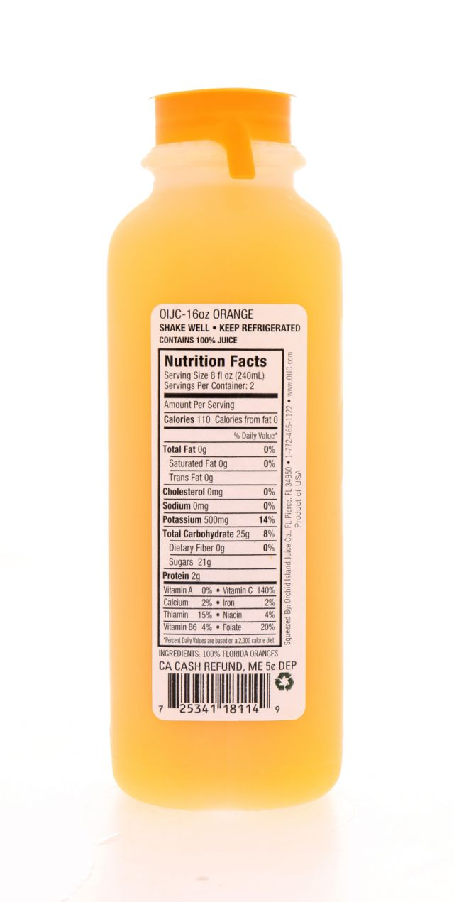 Natalie's: Natalies Orange Facts