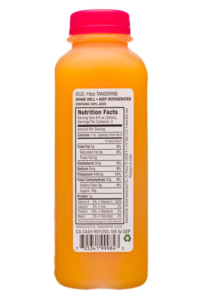 Natalie's: Natalies-16oz-JuiceV2-Tangerine-Facts